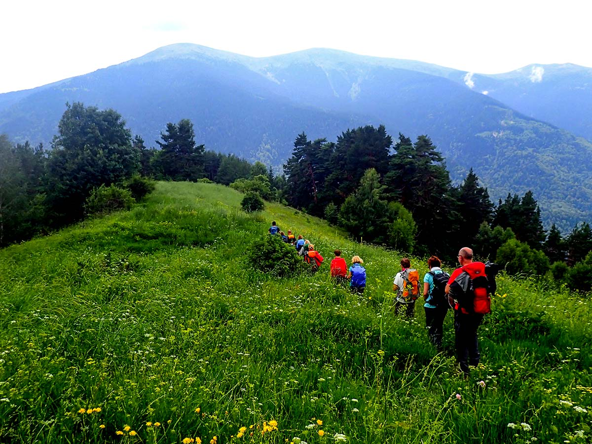 Southwestern Rila on day 4 of Rila and Pirin Trek