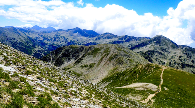 The Summits and Ridges of Bulgaria