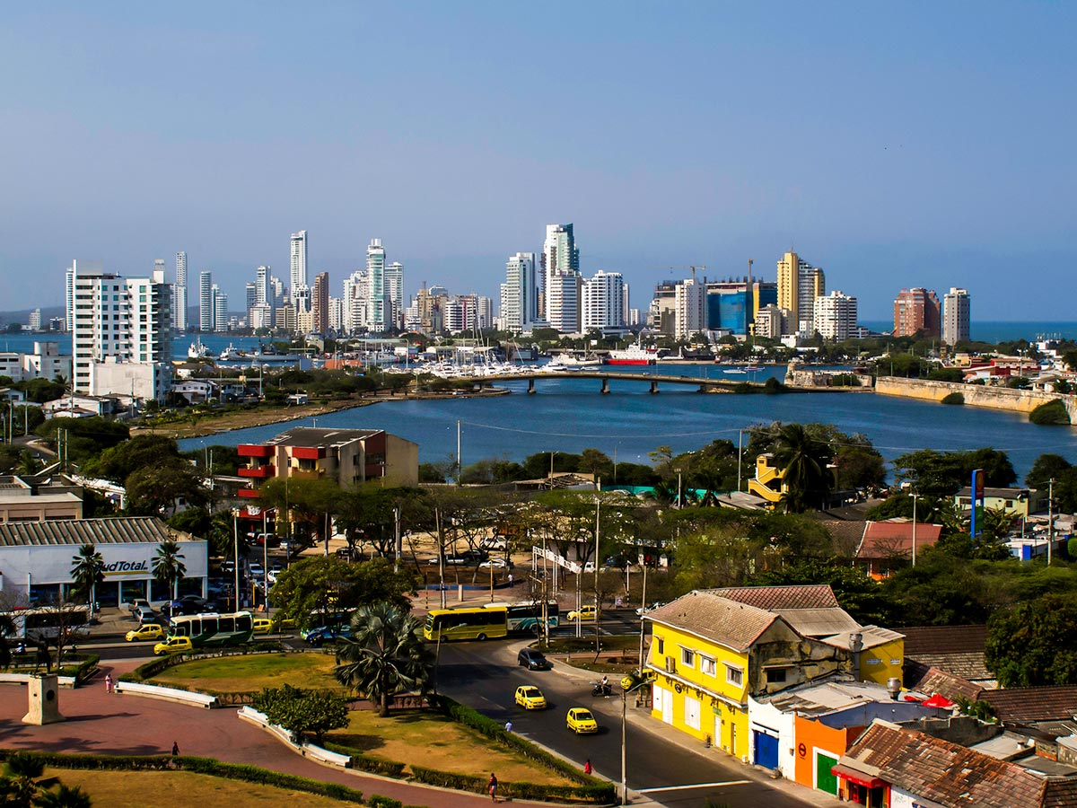 Cartagena is a pearl of Atlantic Coast in Colombia and can be seen on Colombia Off Road Tour