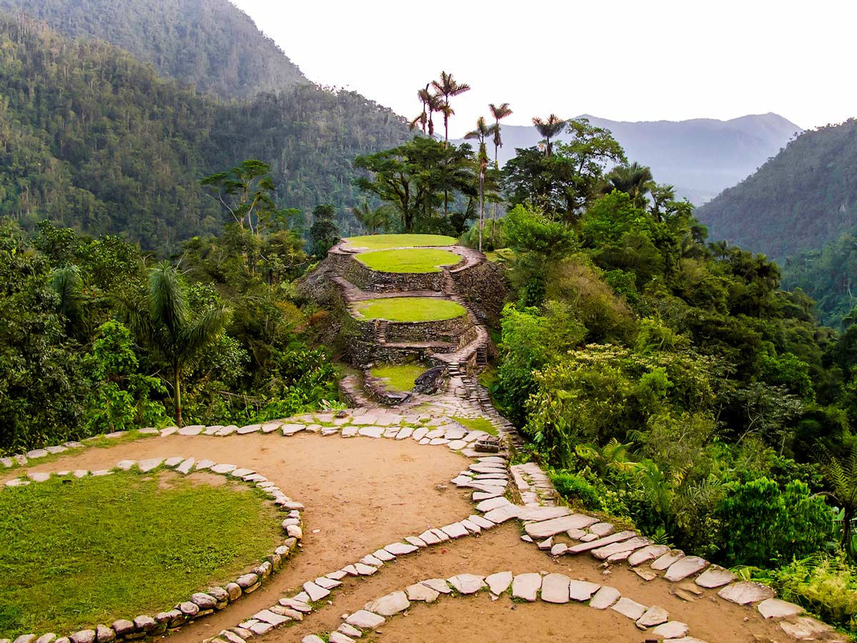 The Lost City of Sierra Nevada de Santa Marta is the highlight of Colombia Off Road Tour