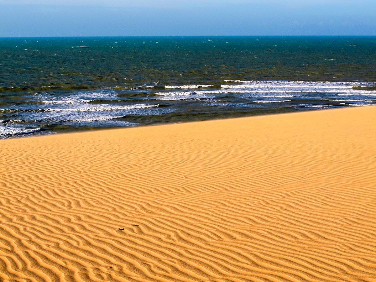 The desert in North Colombia is a must see and can be visited on guided Exploring the Caribbean Tour