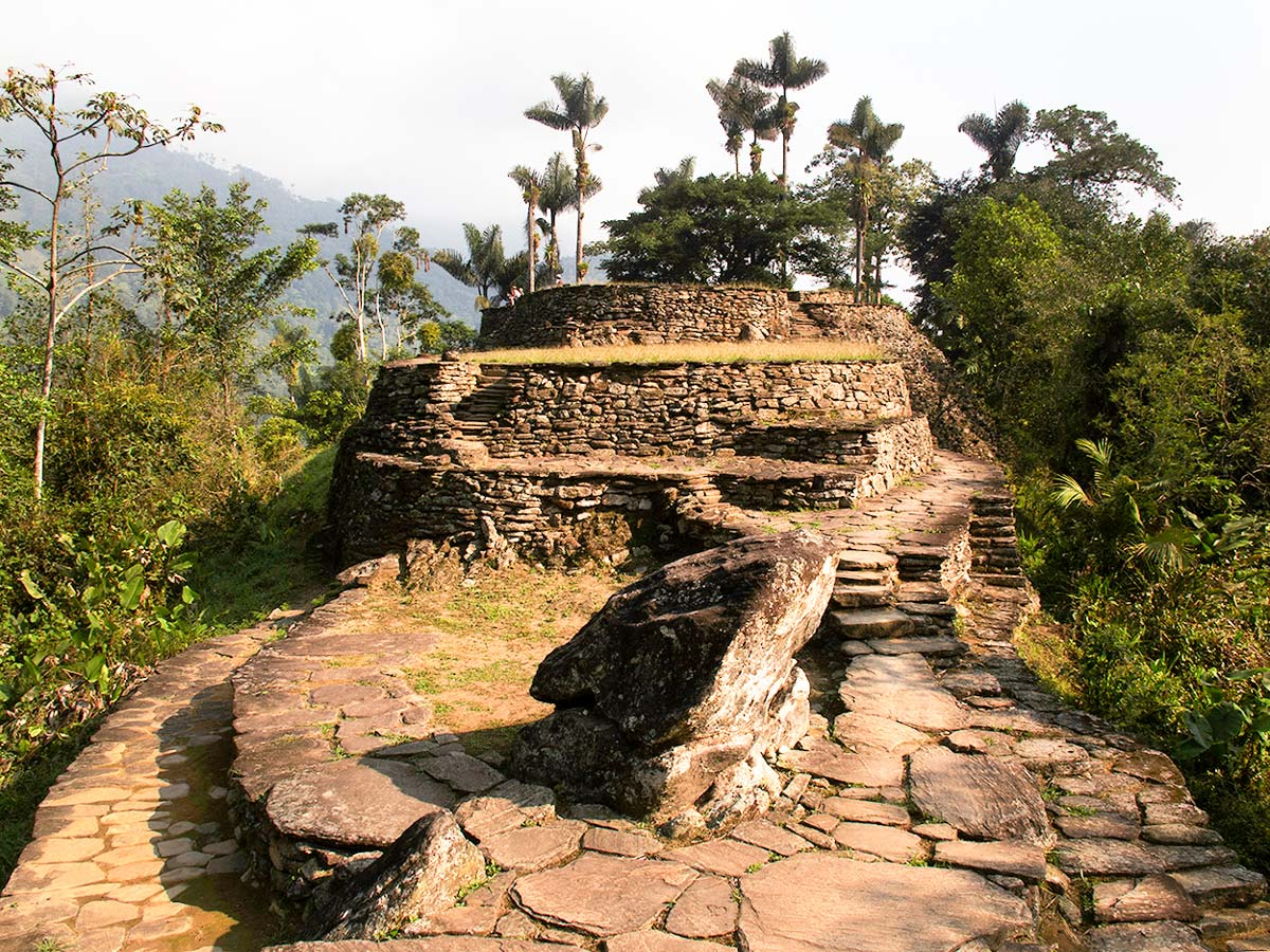 The Lost City visited on Guided Exploring the Caribbean Tour in Colombia