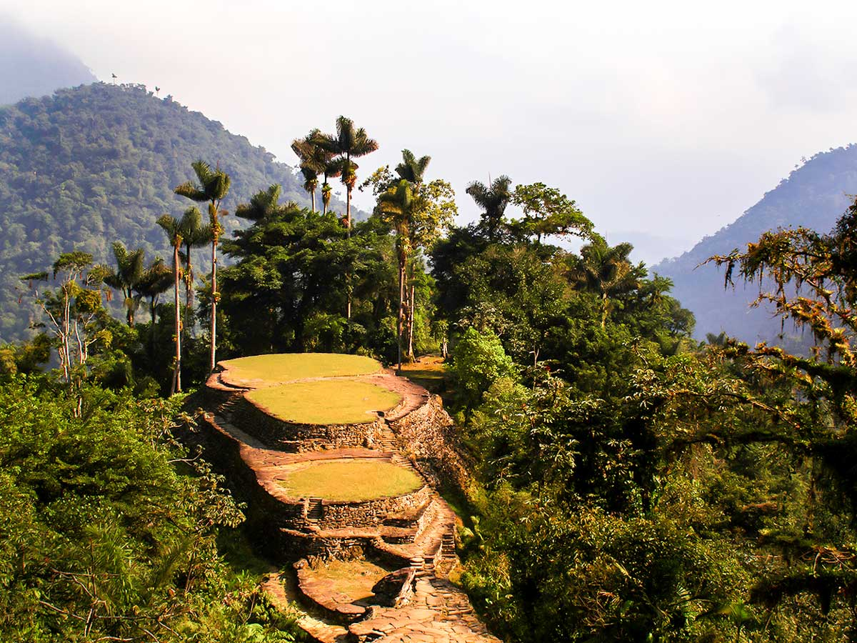 Lost City Trek in Colombia is often considered to be the highlight of Colombia and can be only reached by foot