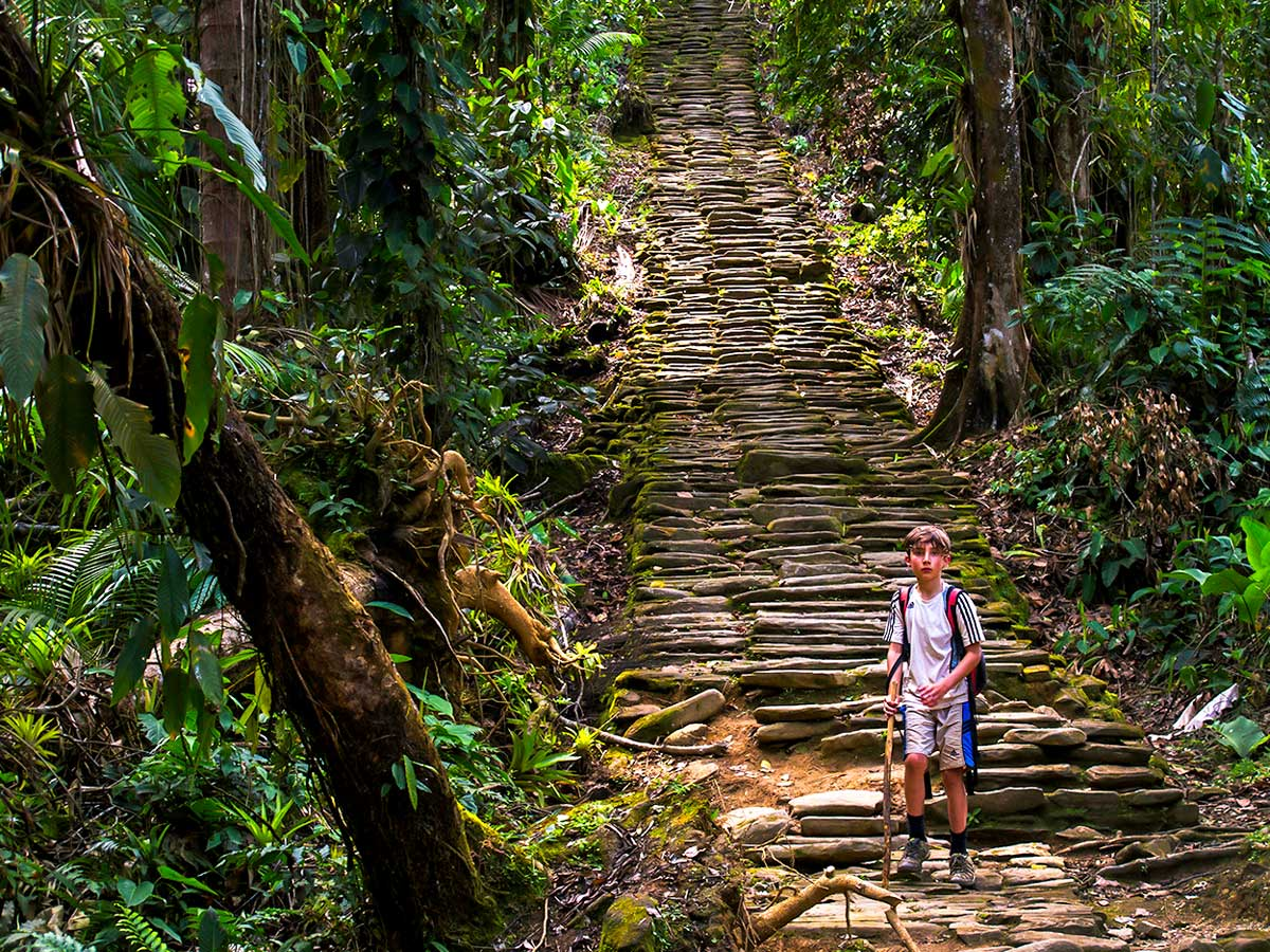 The path to the Lost City is well maintained