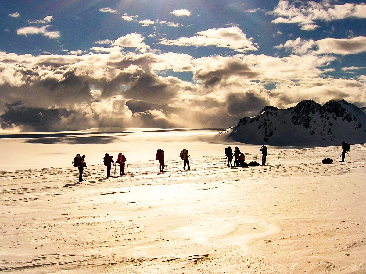 Trekking on Patagonias Icefield is a must do for every trekker who likes the challenge