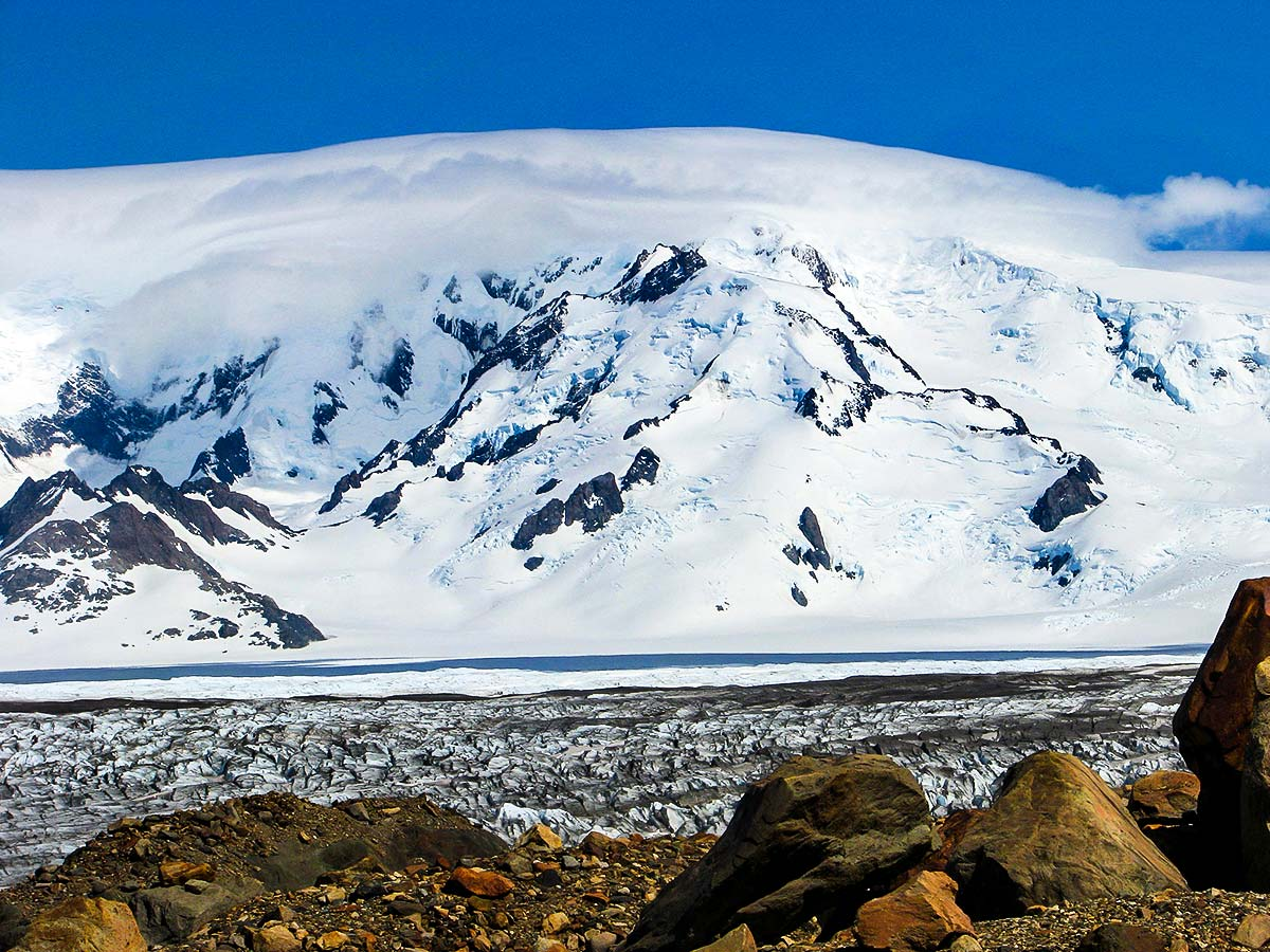 Patagonias Icefield Trek is a great guided tour with amazing views
