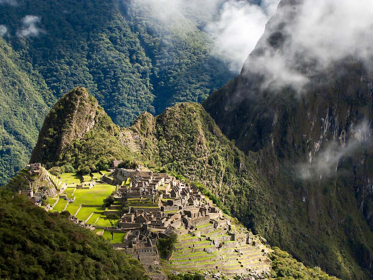 Visiting Machu Piccu is a highlight of Peru Ecuador Galapagos Tour