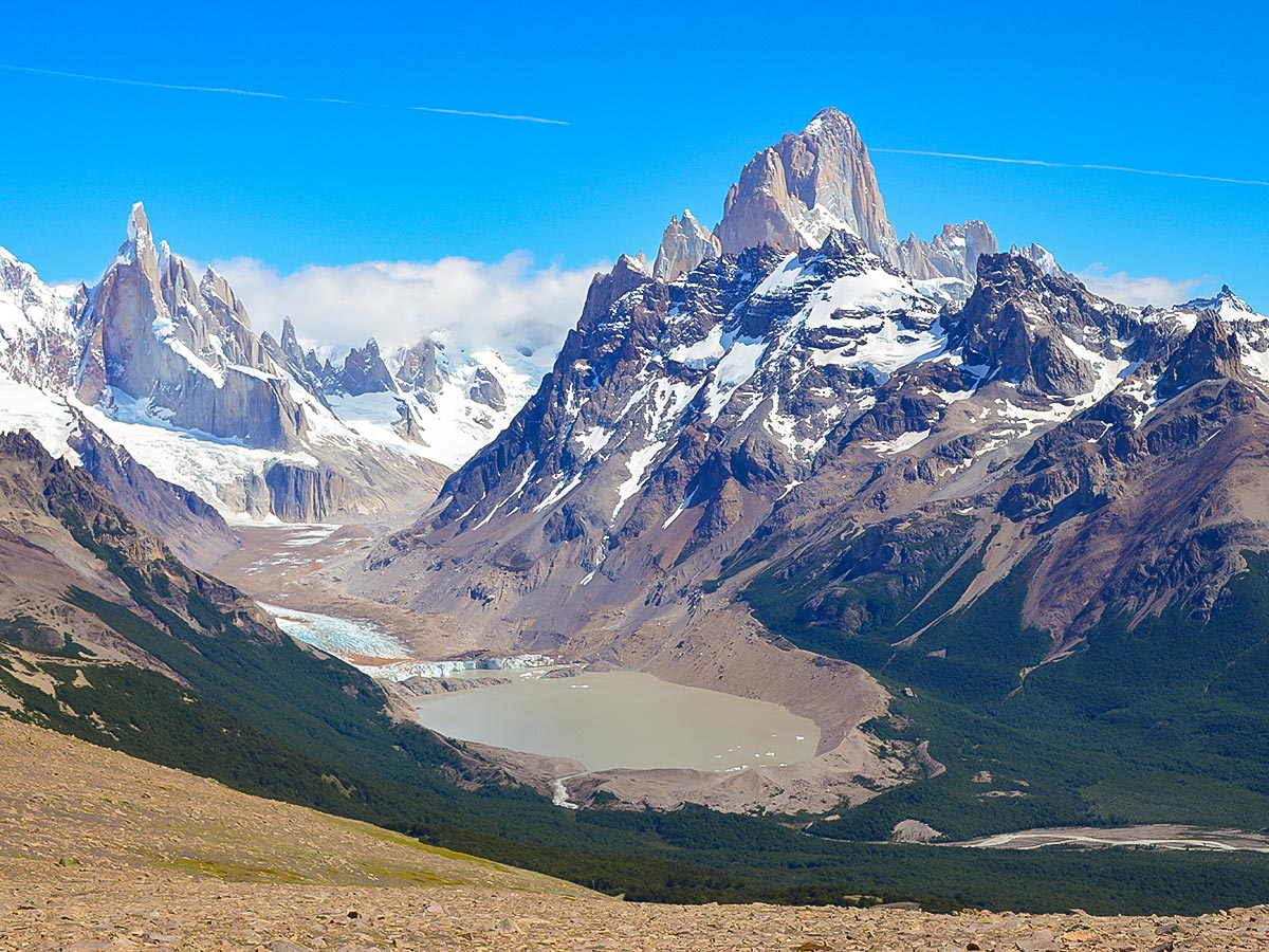 Pliegue Tumbado visited on Full Patagonia Adventure Tour on day 5