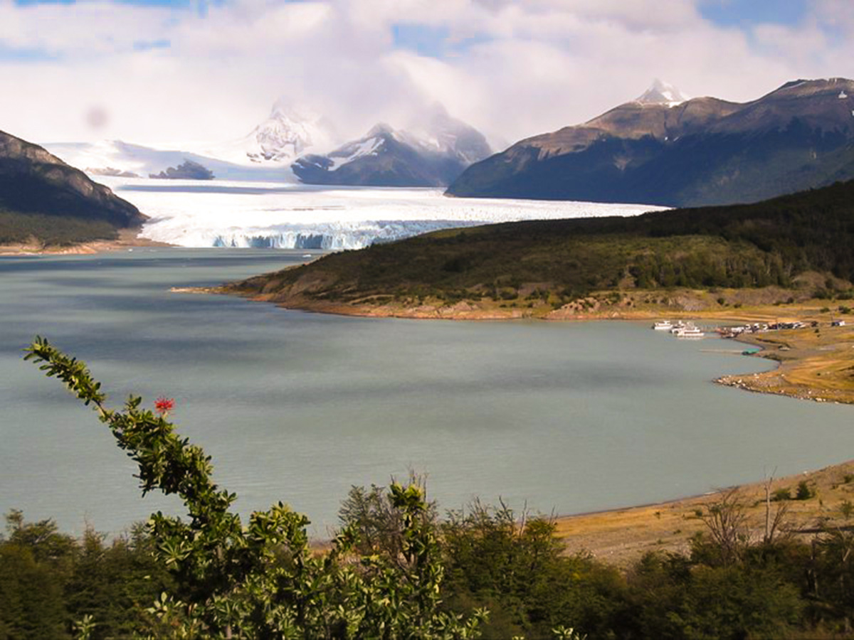 Moreno Glacier visited on day 7 of Full Patagonia Adventure Tour in Argentina and Chile