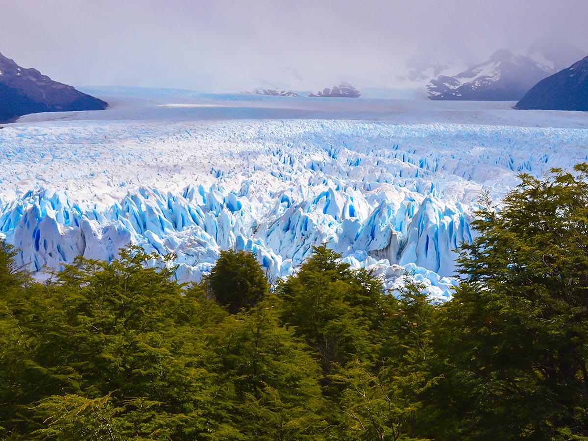Full Patagonia Adventure Tour includes visiting Moreno Glacier on day 8