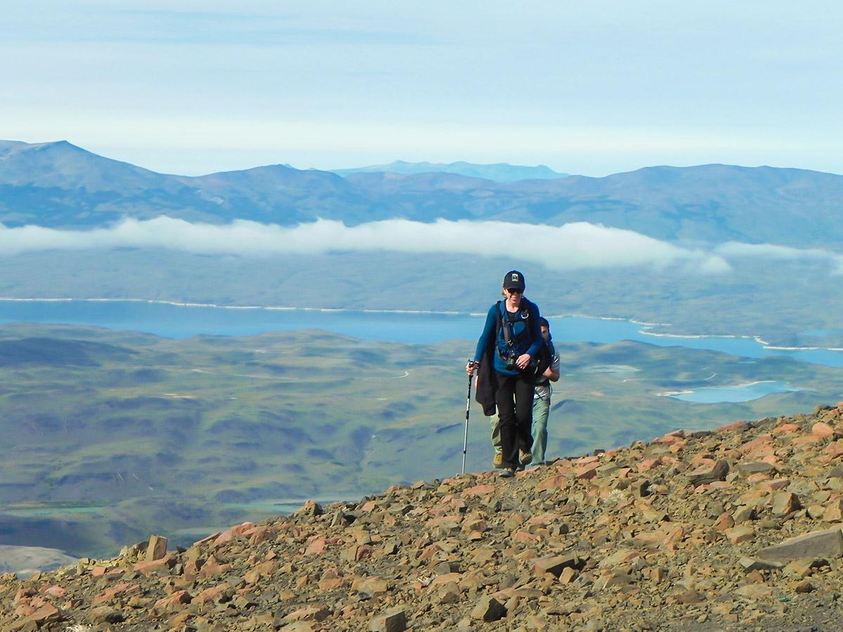 Full Patagonia Adventure Tour includes hiking in Las Torres del Paine Chile