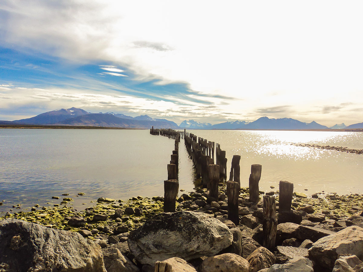 Visiting Puerto Natales in Chile on 11th day of the guided Full Patagonia Adventure trek