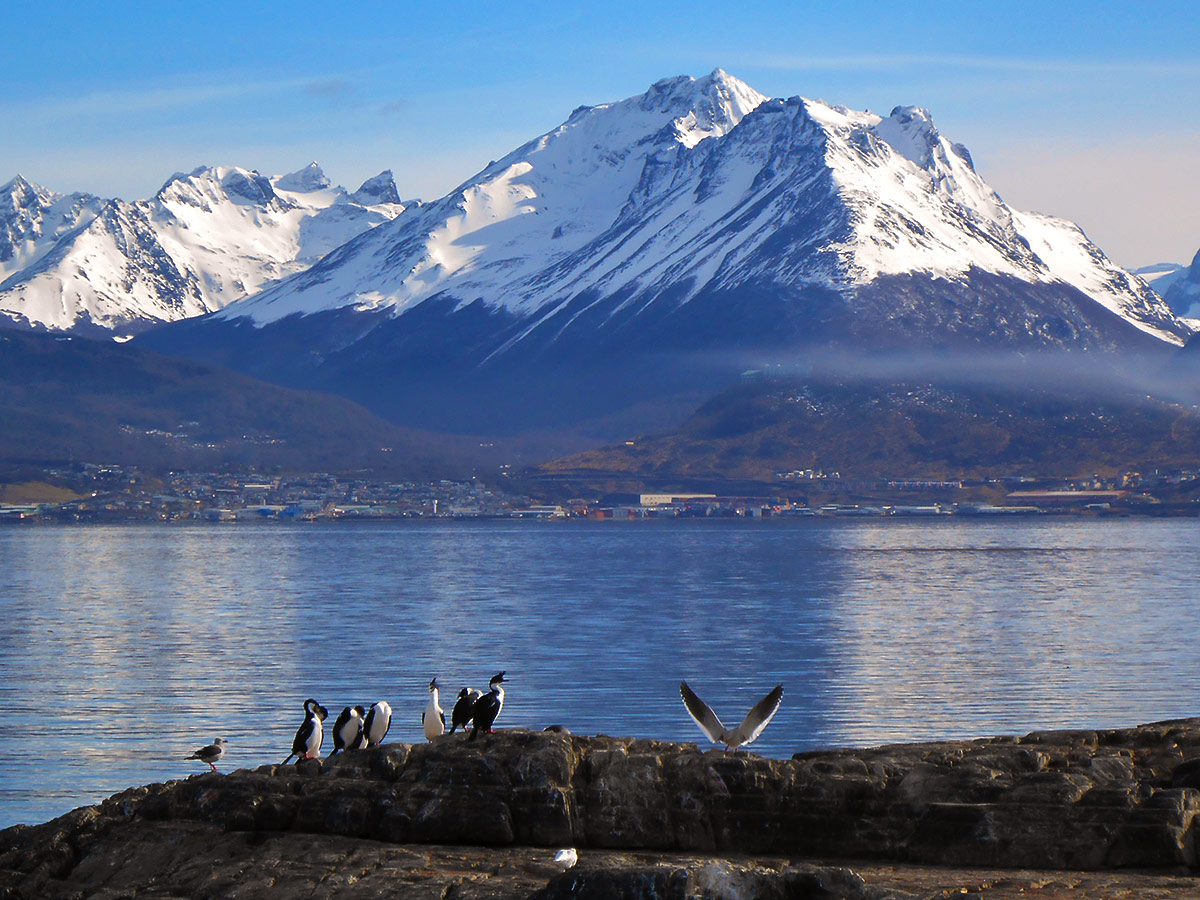 Visit Beagle Chanel on Guided Full Patagonia Adventure Trekking Tour in Chilean and Argentinean Patagonia