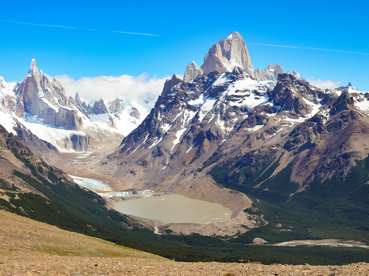 Los Glaciares and Paine Adventure includes visiting Pliegue Tumbado on day 5