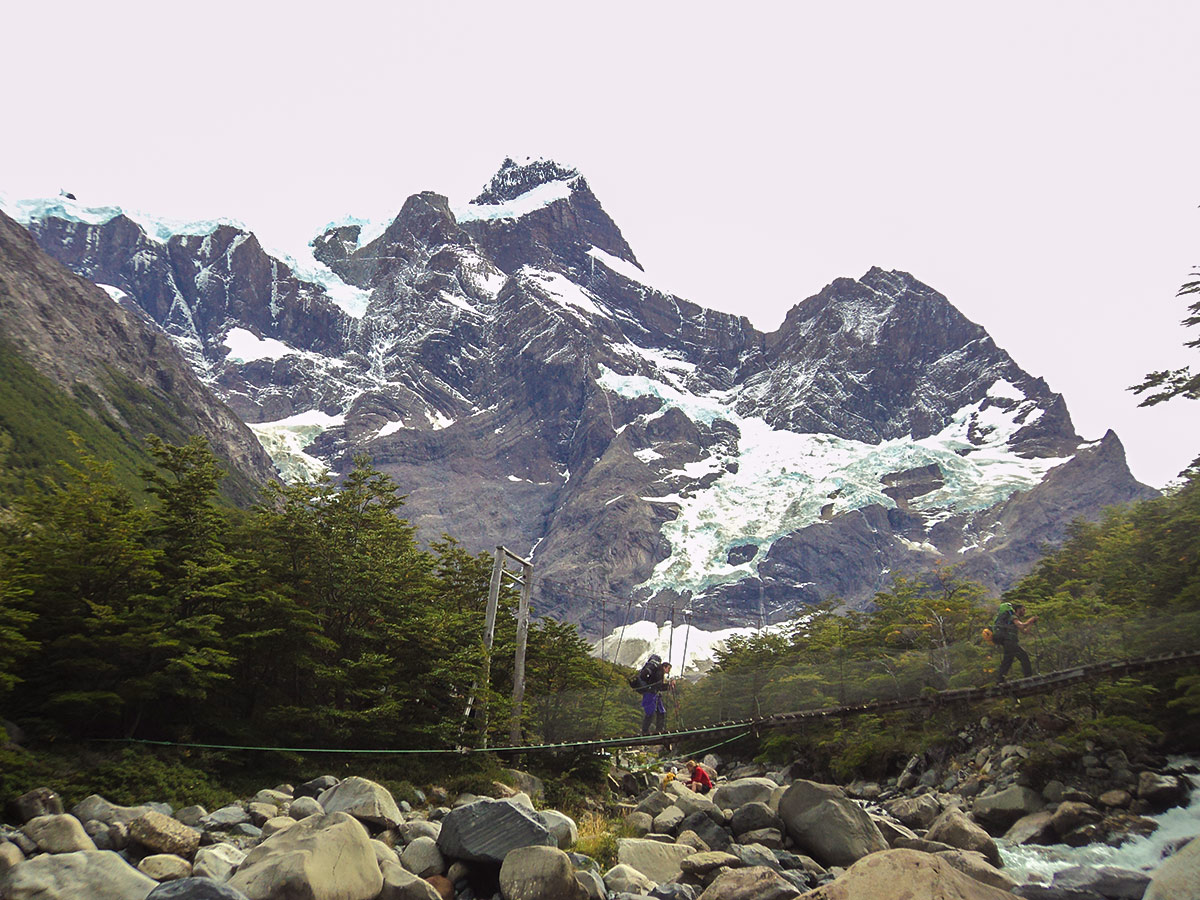 Day 10 of Los Glaciares and Paine Adventure includes visiting French Valley Patagonia