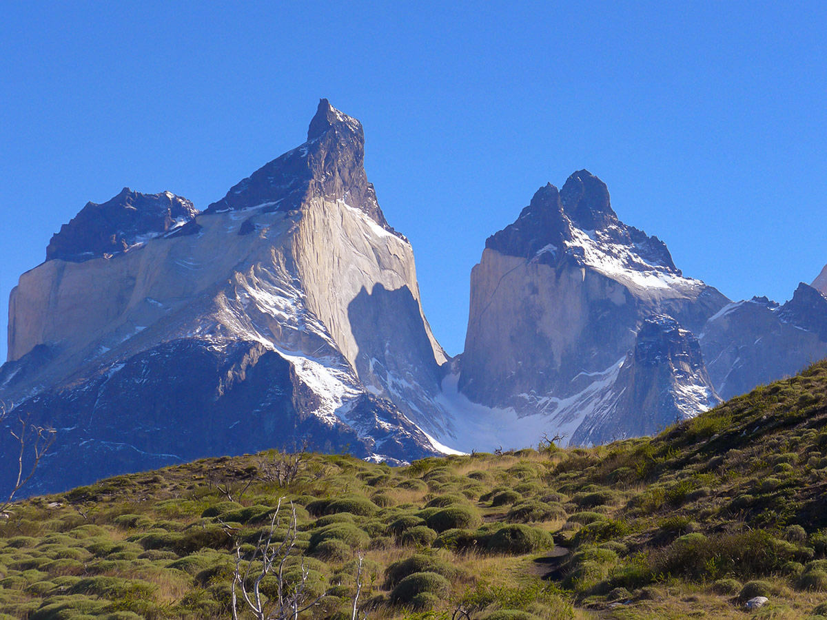 French Valley as seen on day 10 of Los Glaciares and Paine Adventure guided trek in Patagonia
