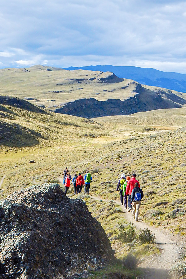 Hike from Lake Sarmiento to Armaga Lagoon is one of the highlights of Torres del Paine Ushuaia Adventure Tour