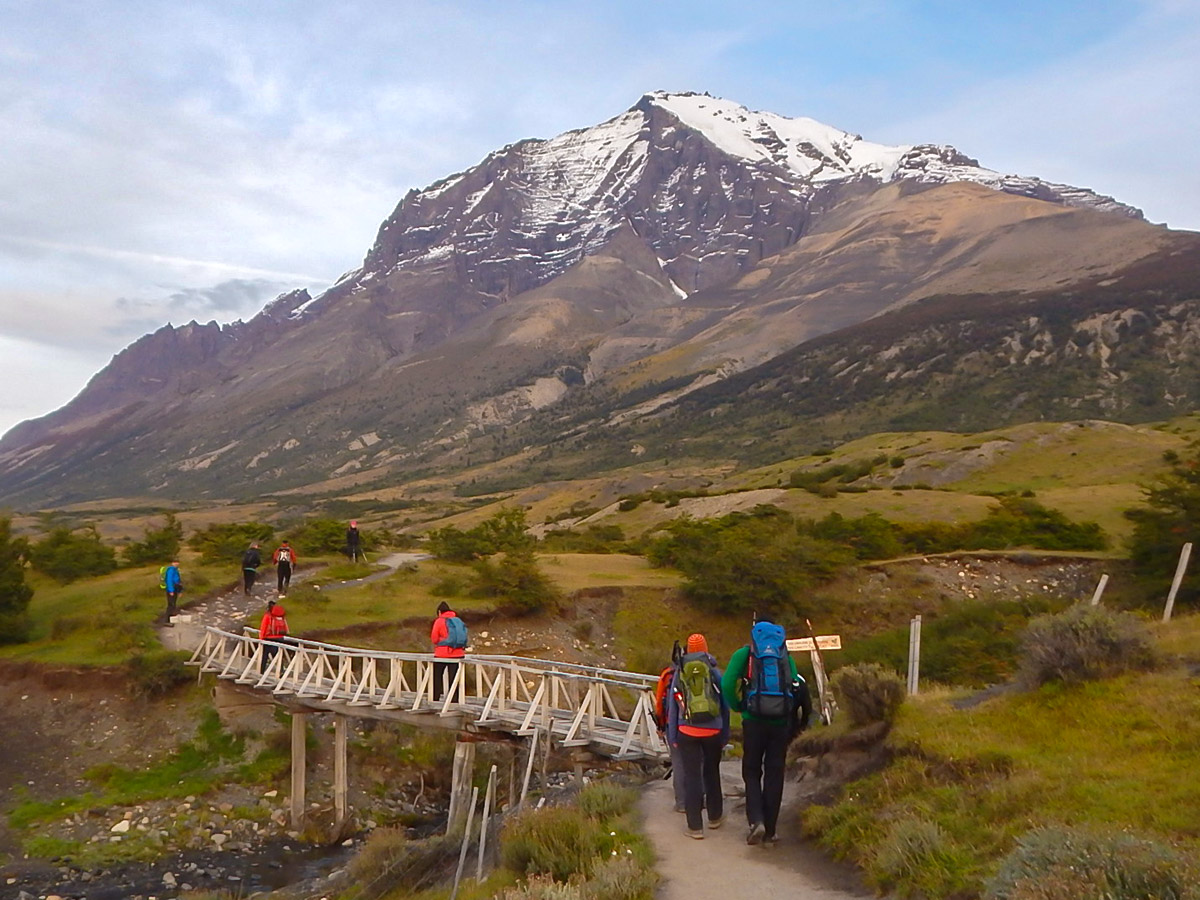 Hiking Las Torres is one of the higlights of Torres del Paine Ushuaia Adventure Tour in Chile
