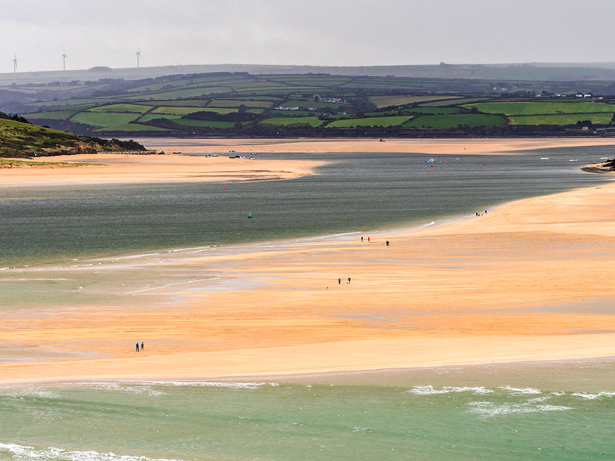 Padstow has beautiful beaches you get to see on South West Coast Path walking tour