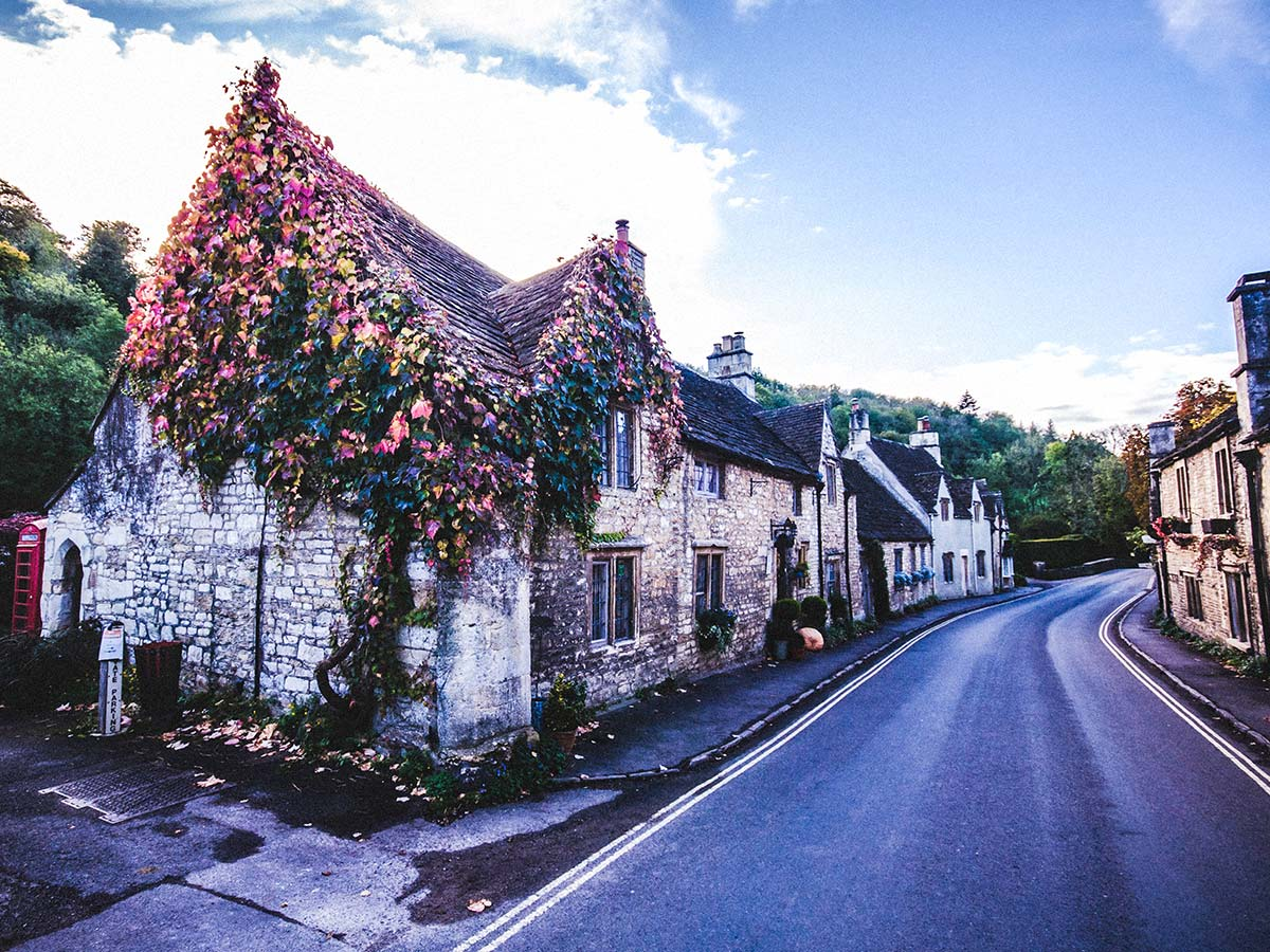 Castle Combe is a lovely town that you pass through on South West Coast Path walking tour