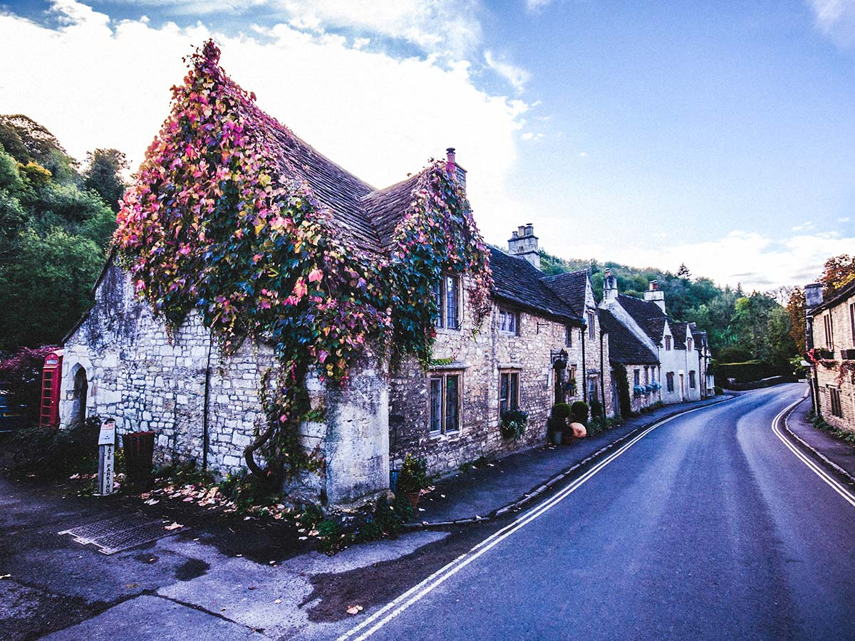 Castle Combe is a cozy English village you get to pass through on Stratford to Bath Cycling Tour