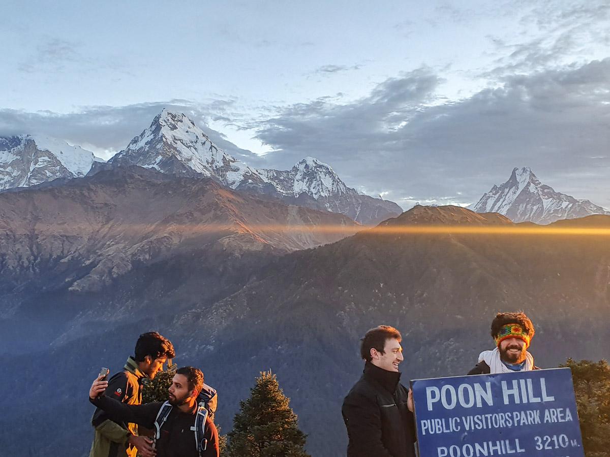 Stunning views of Ghorepani and Poon Hill trek in Nepal including Dhaulagiri Annapurna Tukuche and Nilgiri