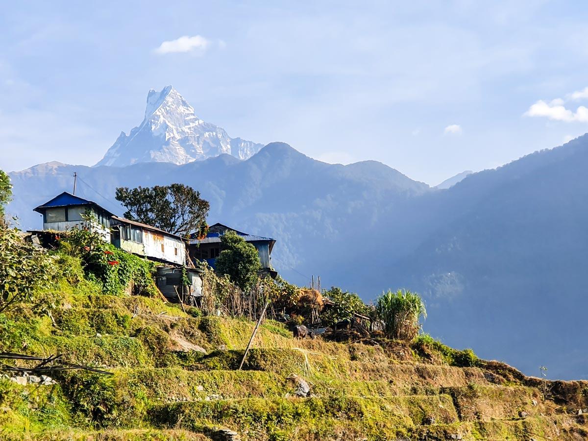 Ghorepani and Poon Hill trek in Nepal rewards with stunning views of Himalaya Mountains