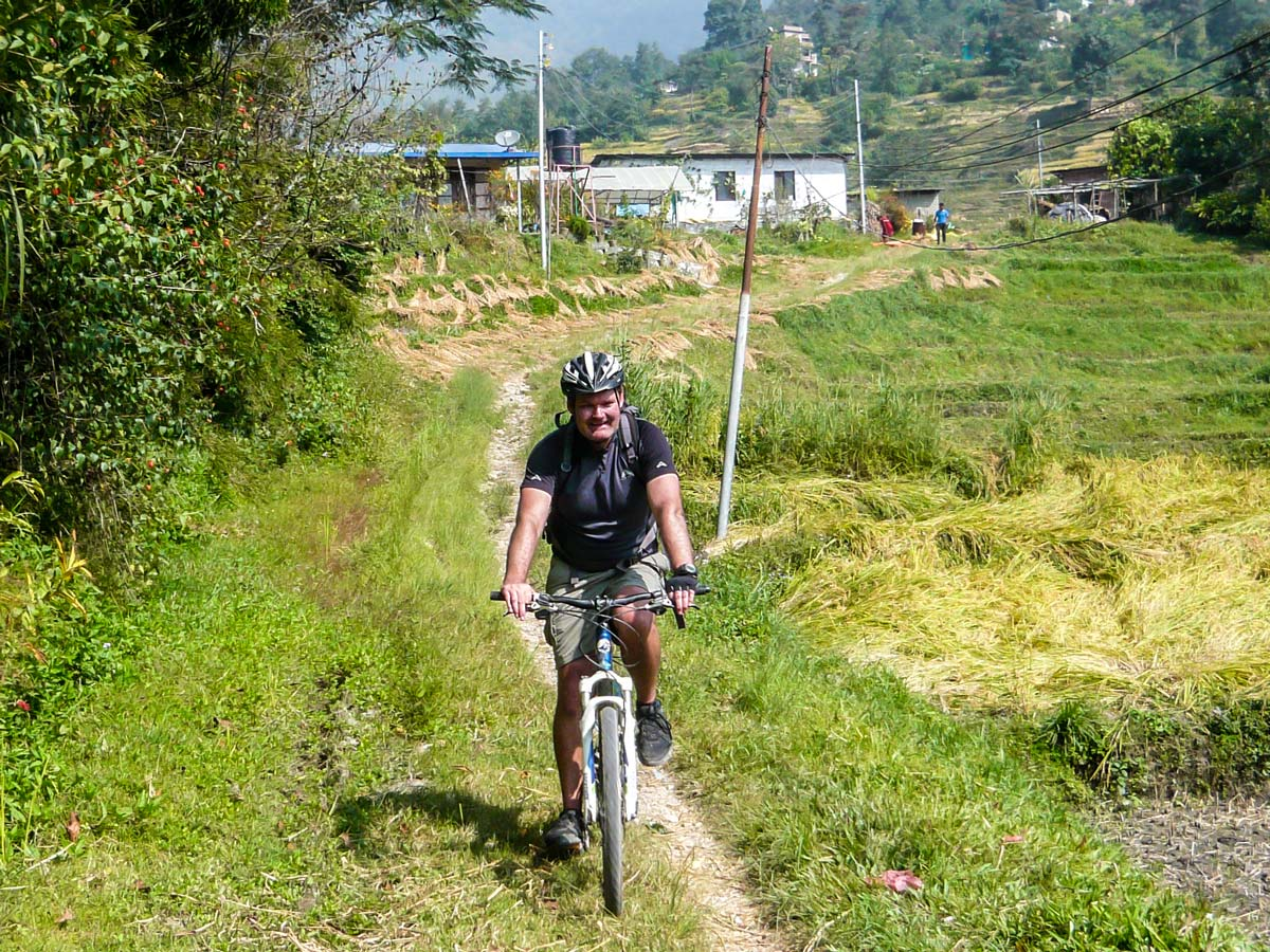 Biking around Kathmandu Tour in Nepal is fun adventure