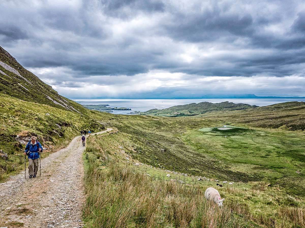 Hiking Slieve League is included in Coastal Causeway Route & Donegal Trek