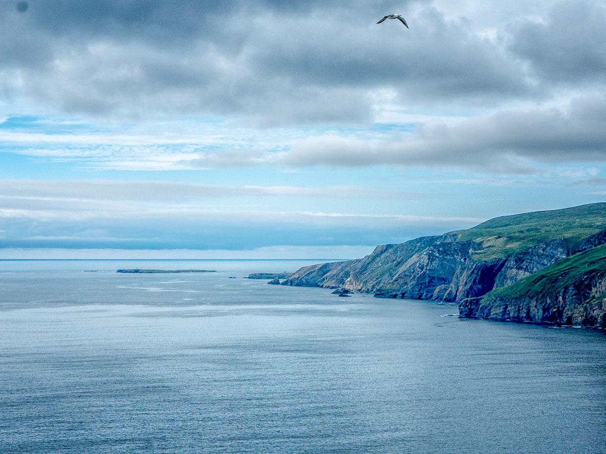 Slieve League seen on Coastal Causeway Route & Donegal Tour