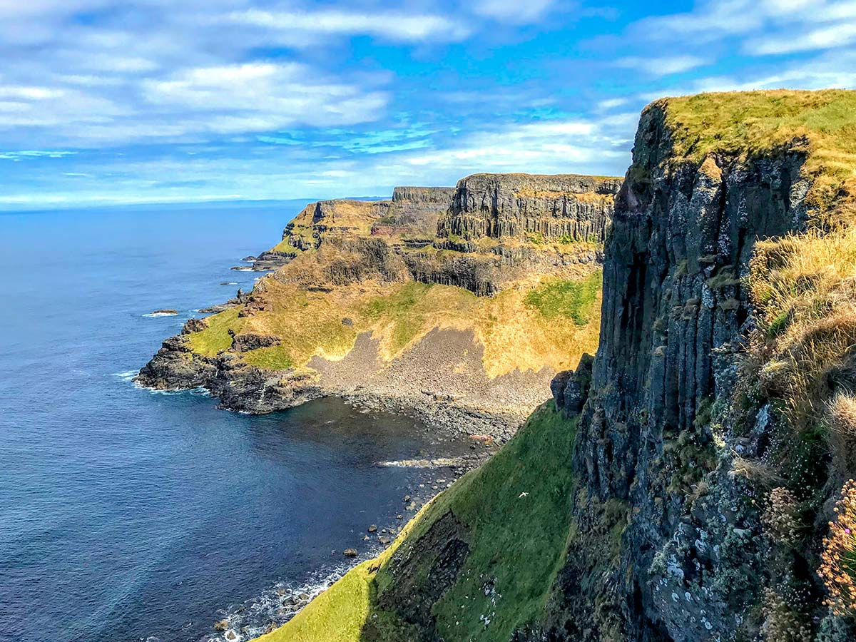 Hiking Coastal Causeway Route & Donegal Tour include trekking the Causeway coast