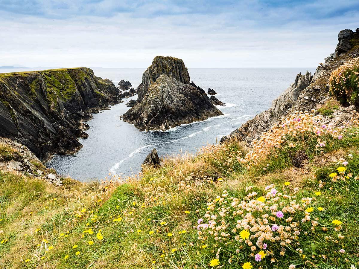 Malin Head seen on Coastal Causeway Route & Donegal Trek