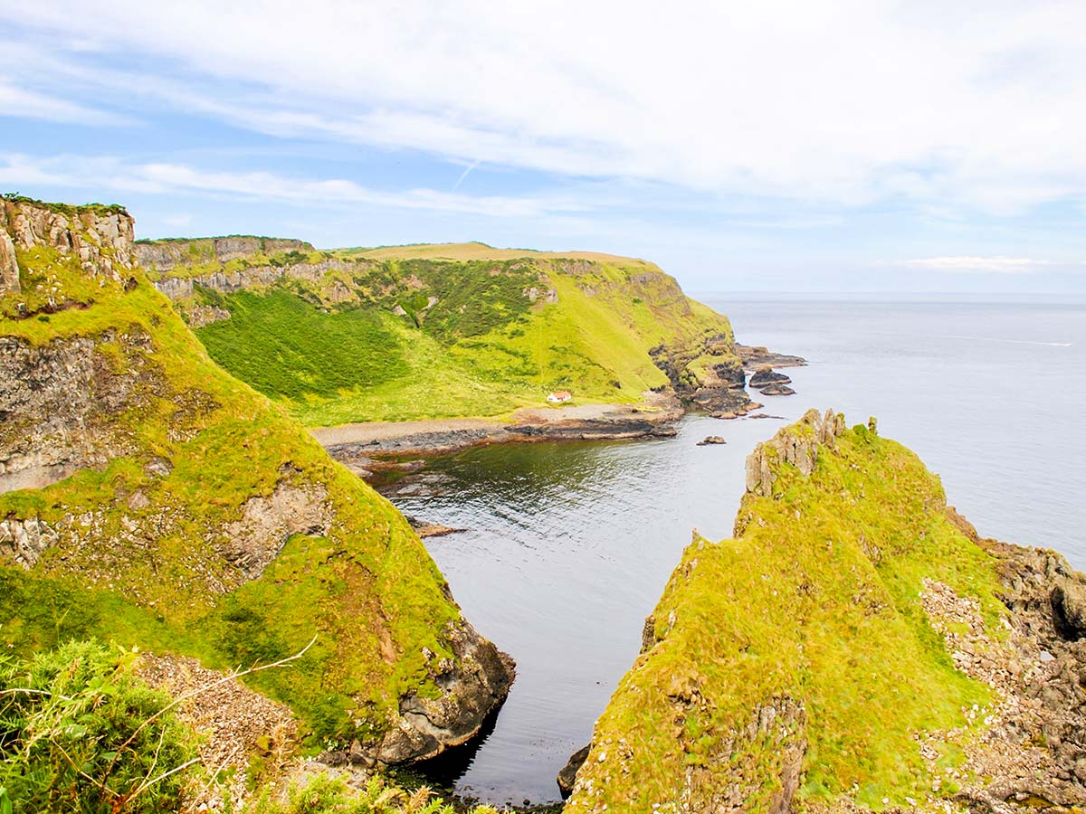 Causeway coast as seen on Hiking the Coastal Causeway Route & Donegal Tour