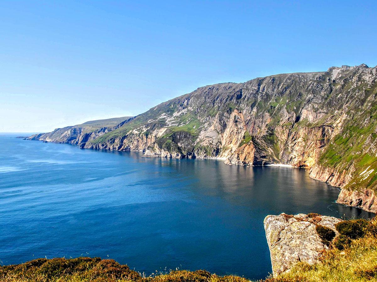 Coastal Causeway Route & Donegal Trek is a great trail along Slieve League cliffs