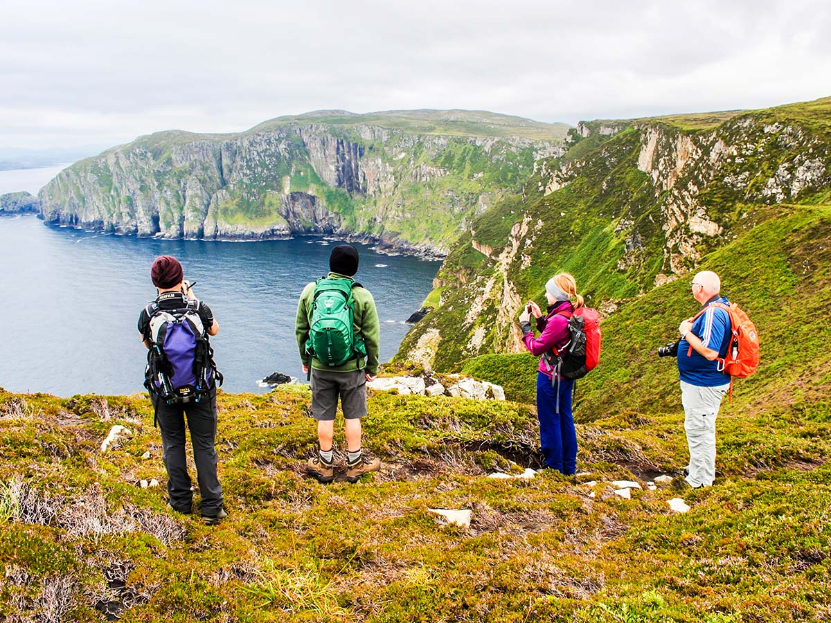 Visiting the Donegal on Coastal Causeway Route & Donegal Trek