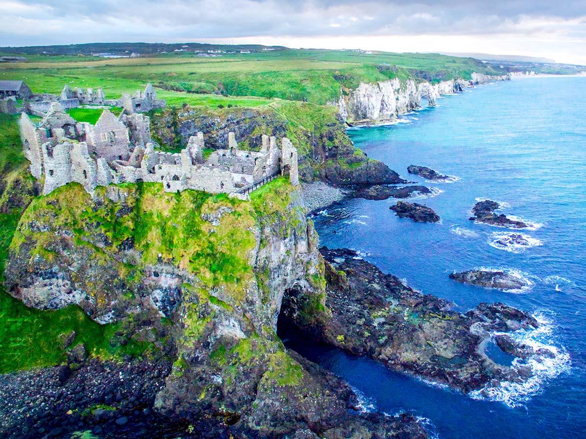 Coastal Causeway Route & Donegal Trek include visiting the Dunluce Castle