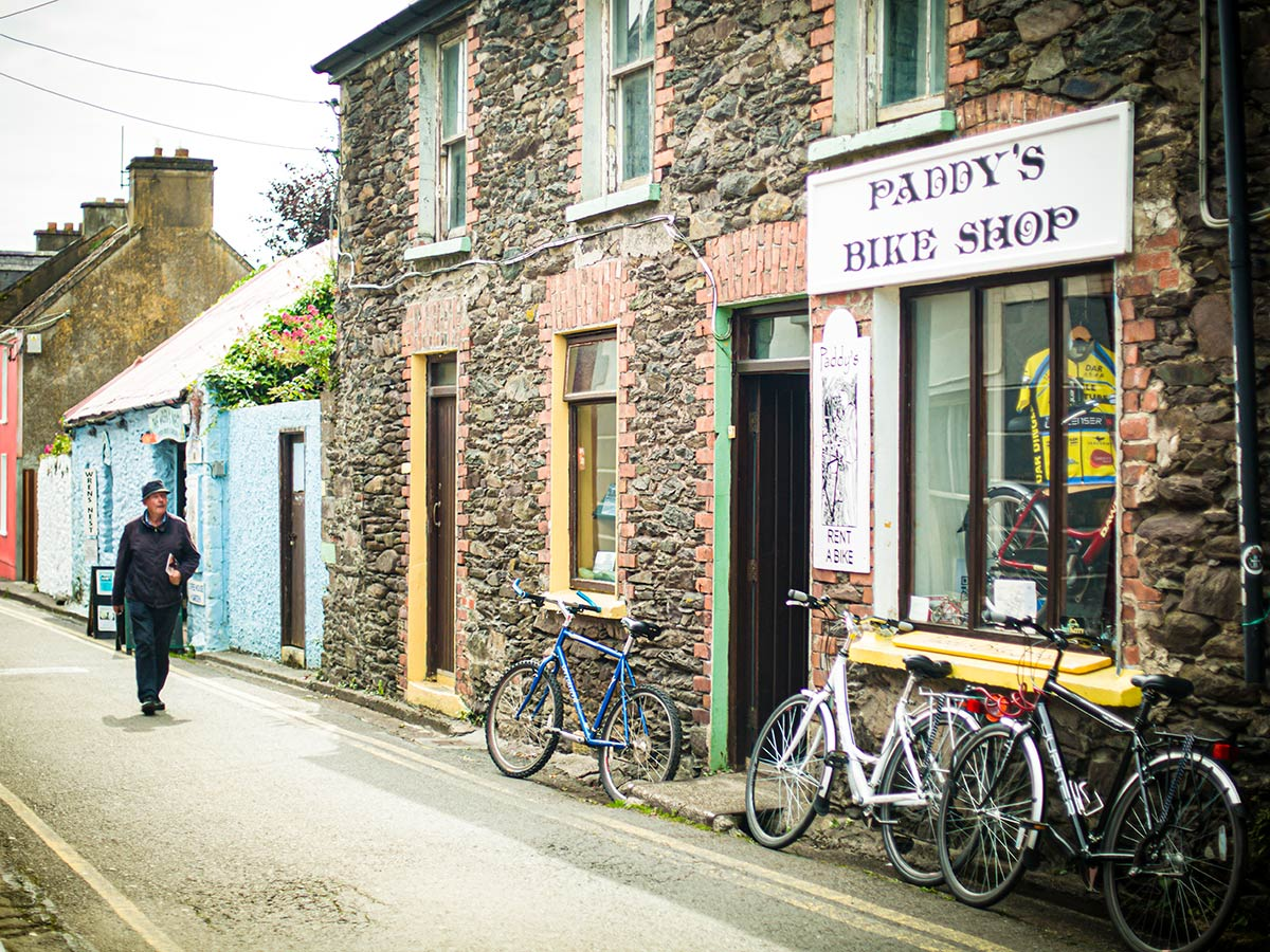 Dingle town as seen on Deluxe Cycling in Kerry Mountains Tour
