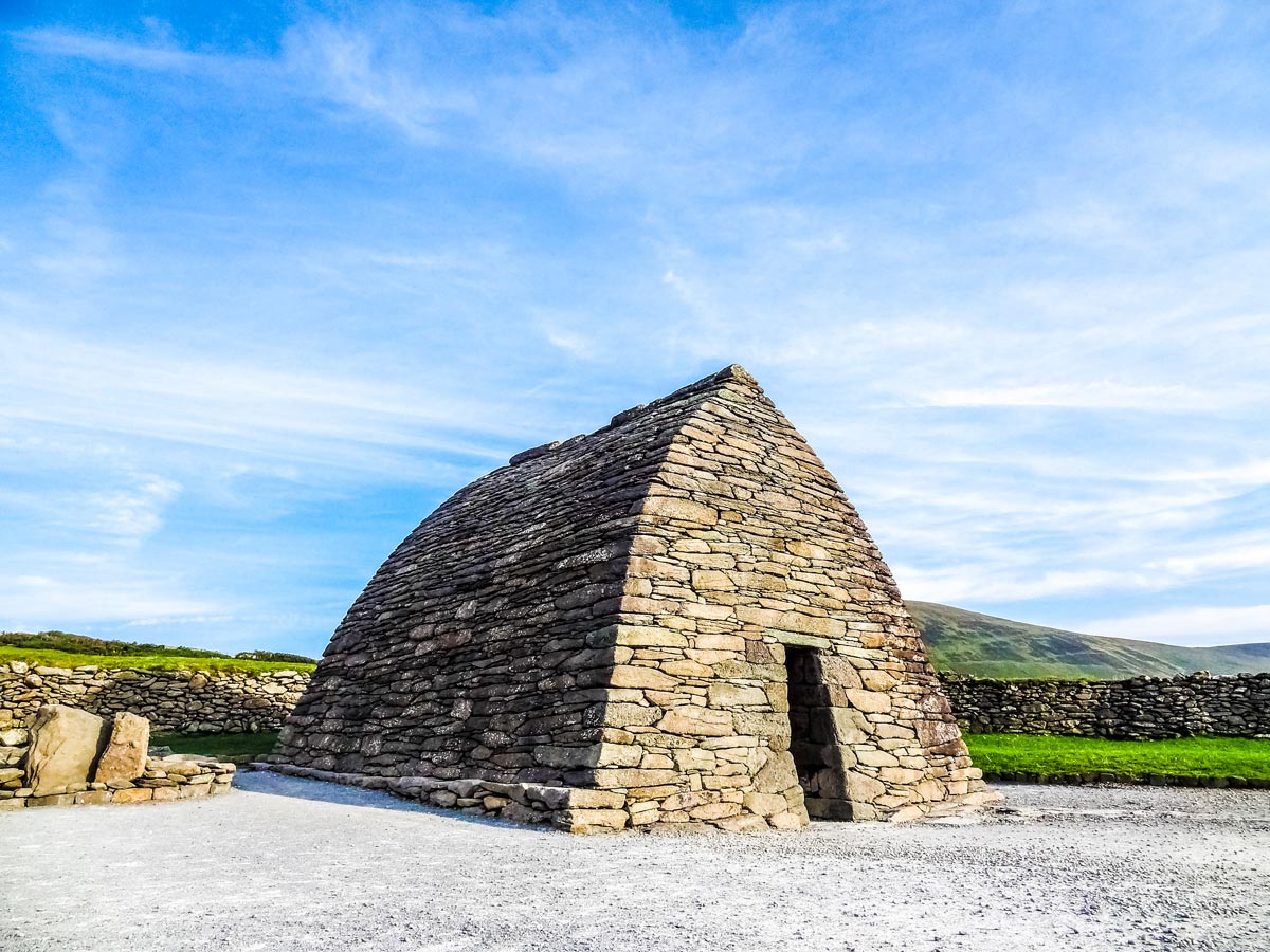 Gallarus Oratory as seen on Deluxe Cycling in Kerry Mountains Tour