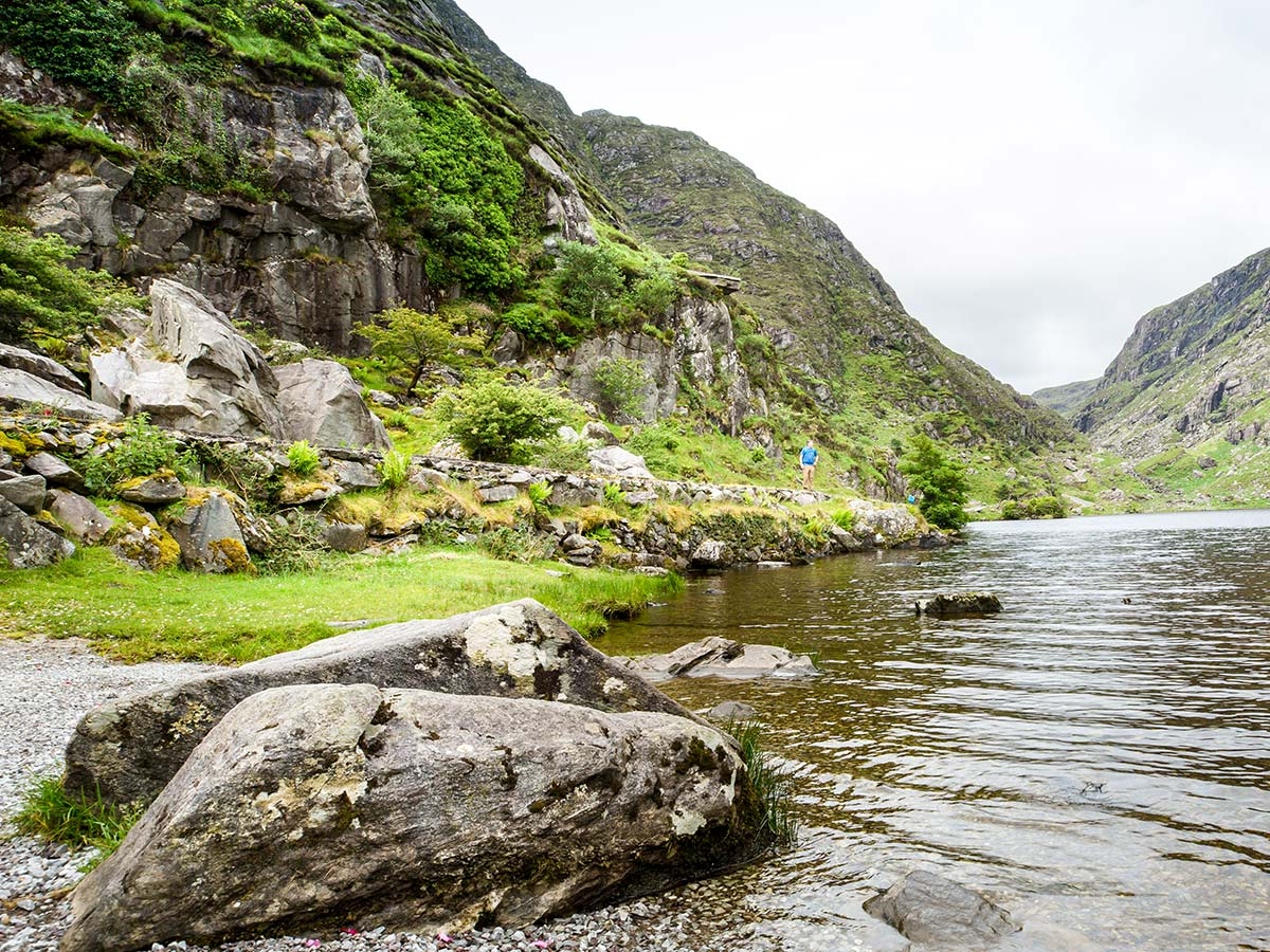 Kerry Gap of Dunloe on Deluxe Cycling in Kerry Mountains Tour