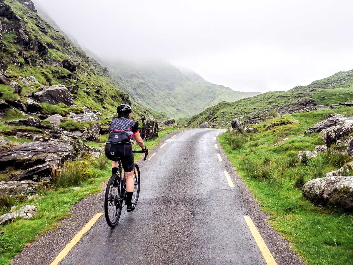 Kerry Gap of Dunloe as seen on Deluxe Cycling in Kerry Mountains Tour