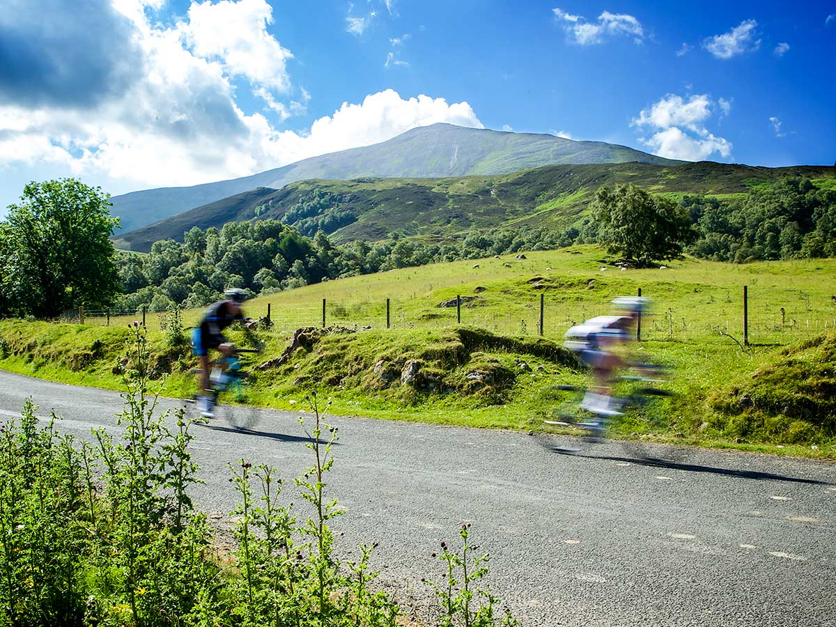 Deluxe Cycling in Kerry Mountains Tour has stunning views of the Ireland