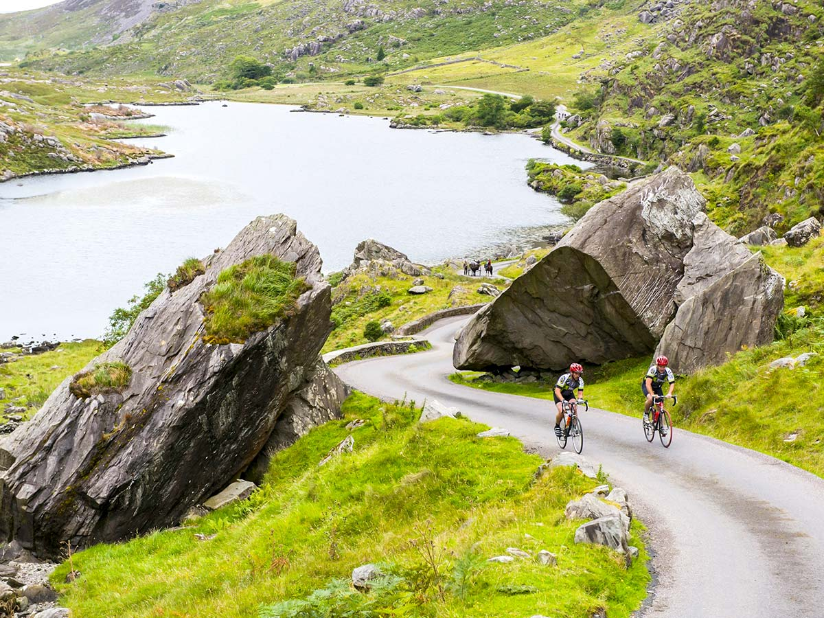 Ring of Kerry as seen on Deluxe Cycling in Kerry Mountains Tour