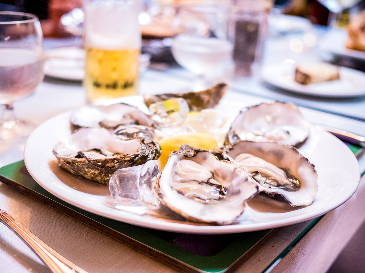 Treat yourself by tasting the shellfish is a Deluxe Cycling in Kerry Mountains Tour