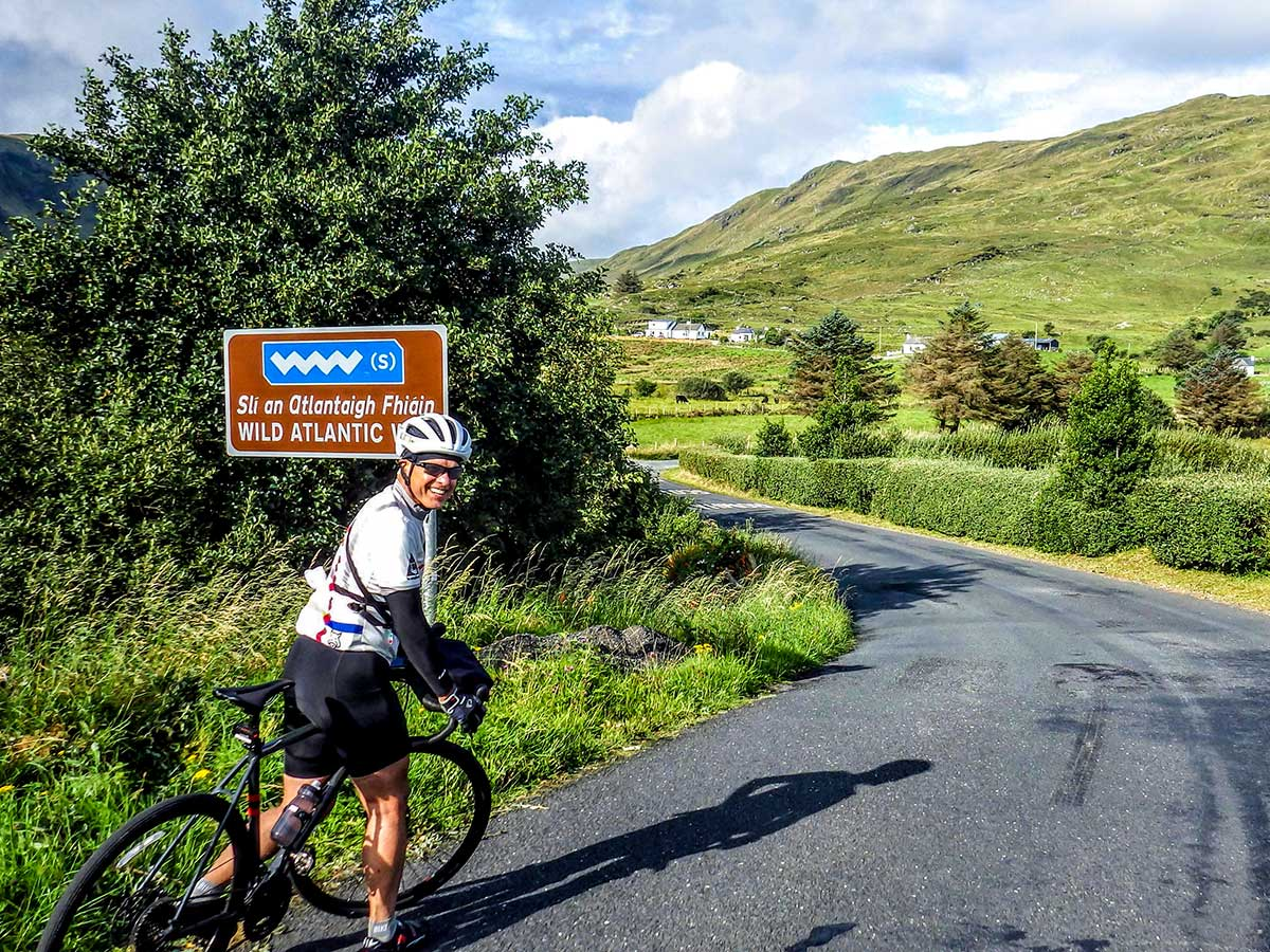 Wild Atlantic Way on Deluxe Cycling in Kerry Mountains Tour