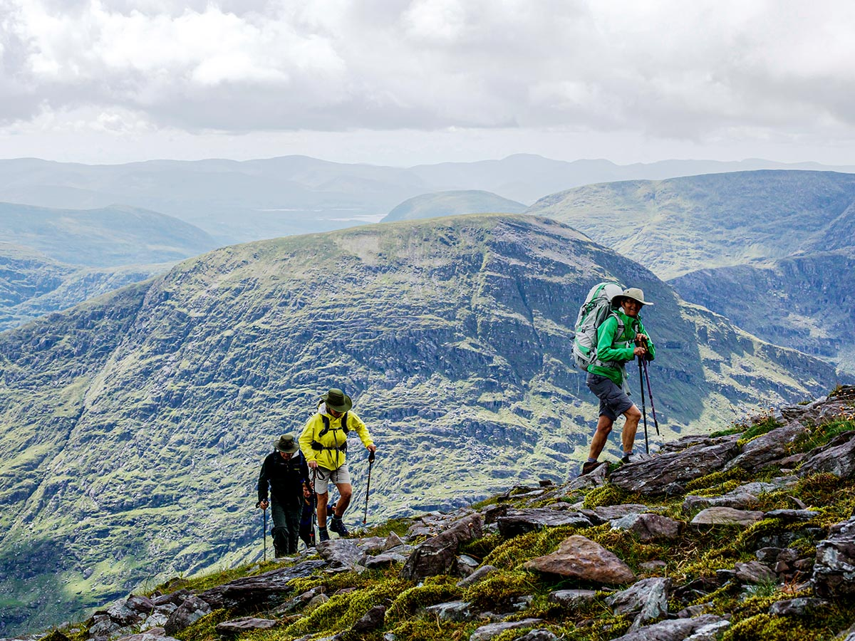Carrauntoohil as seen on Deluxe Hiking Kerry Mountains tour