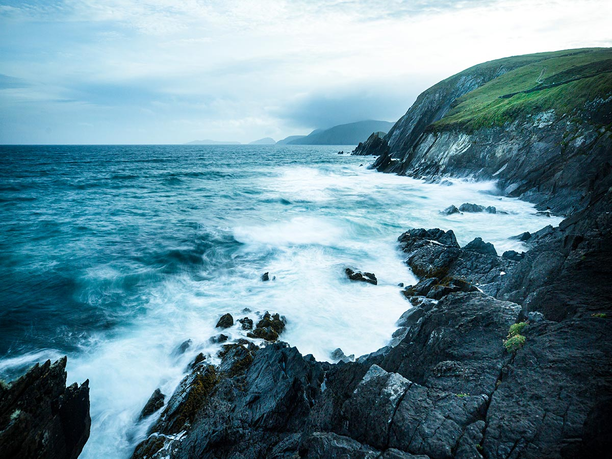 Dingle Peninsula seen on Deluxe Hiking Kerry Mountains tour