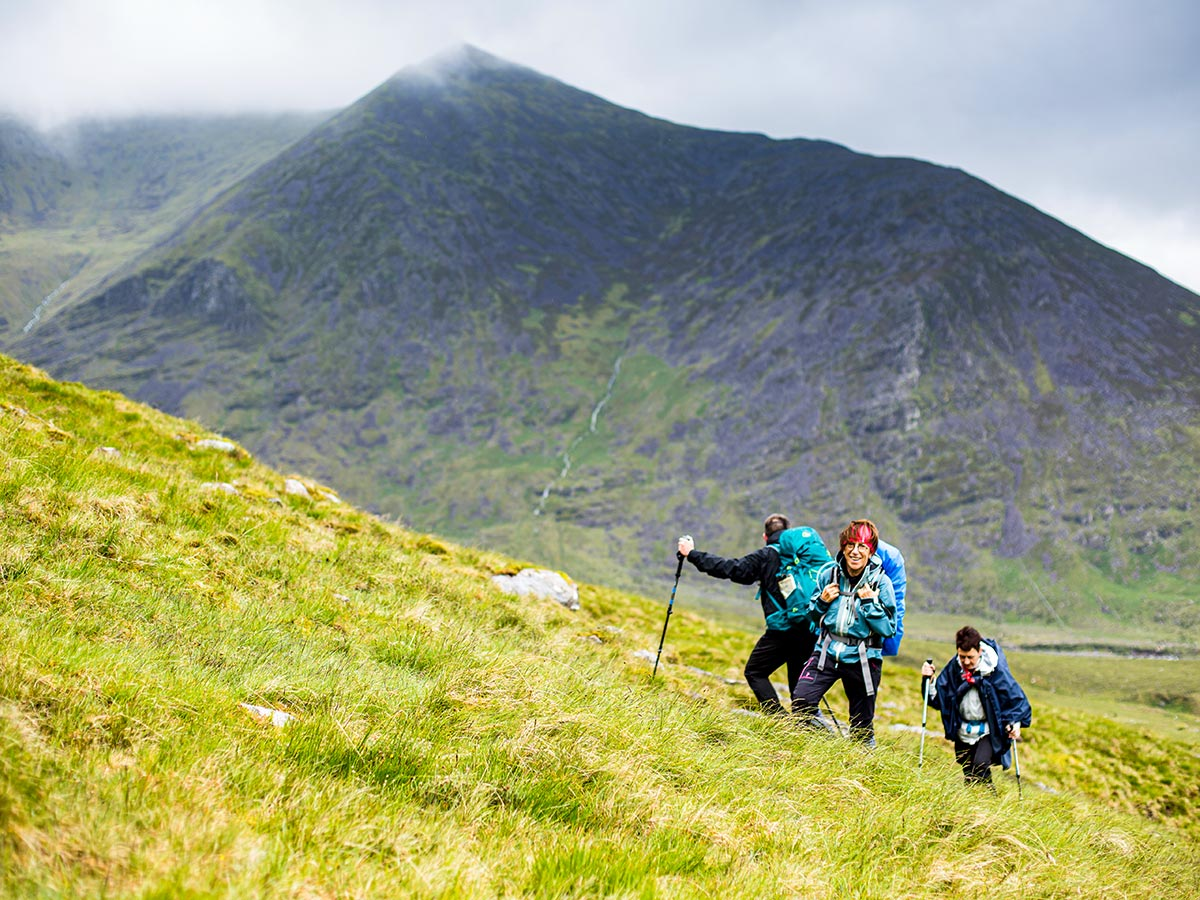 Deluxe Hiking Kerry Mountains Tour is a great adventure in Ireland