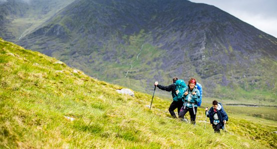 Hiking the Kerry Mountains