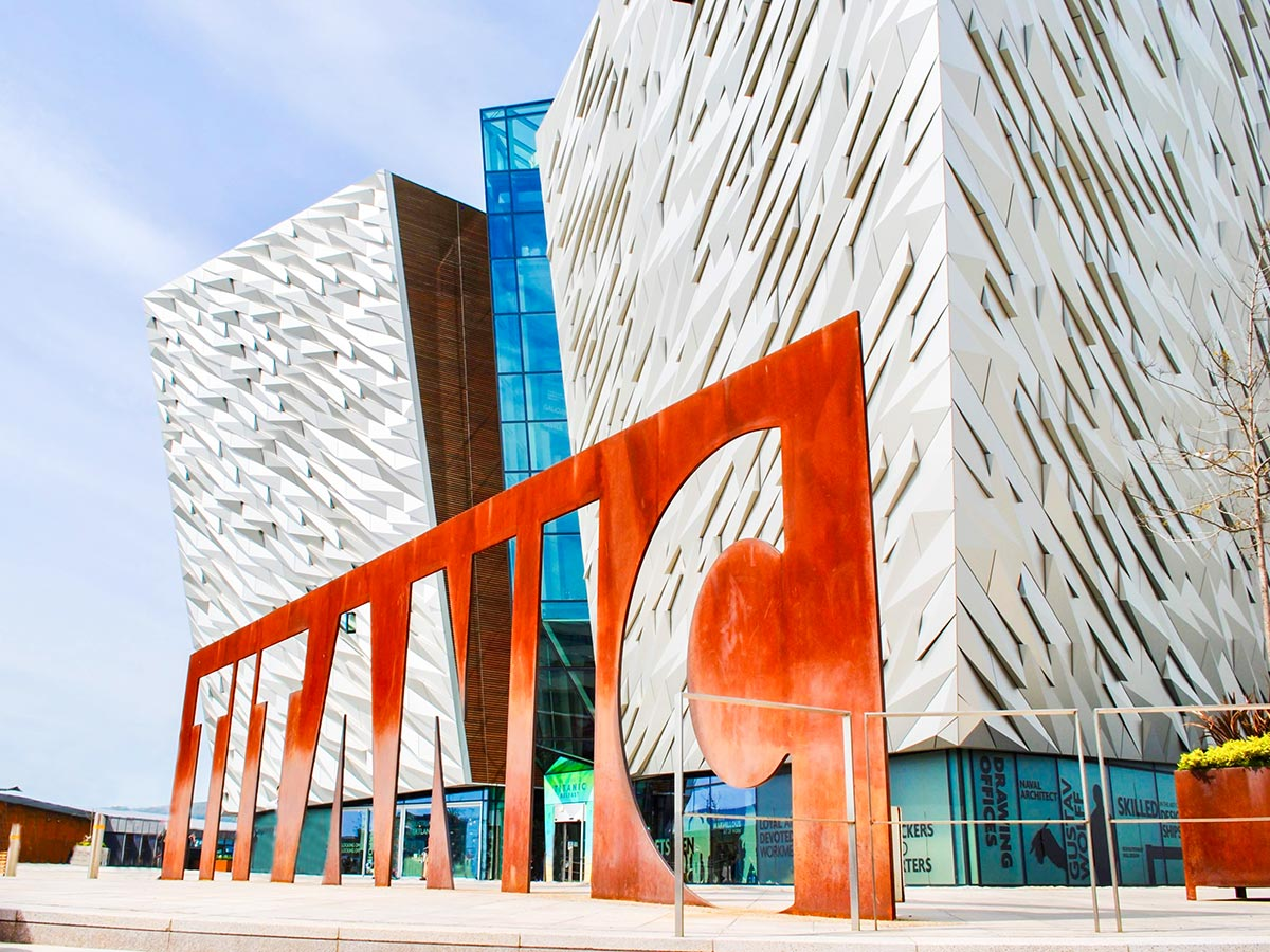 Belfast Titanic Experience is included in Family Adventure Giants Myths Legends Tour