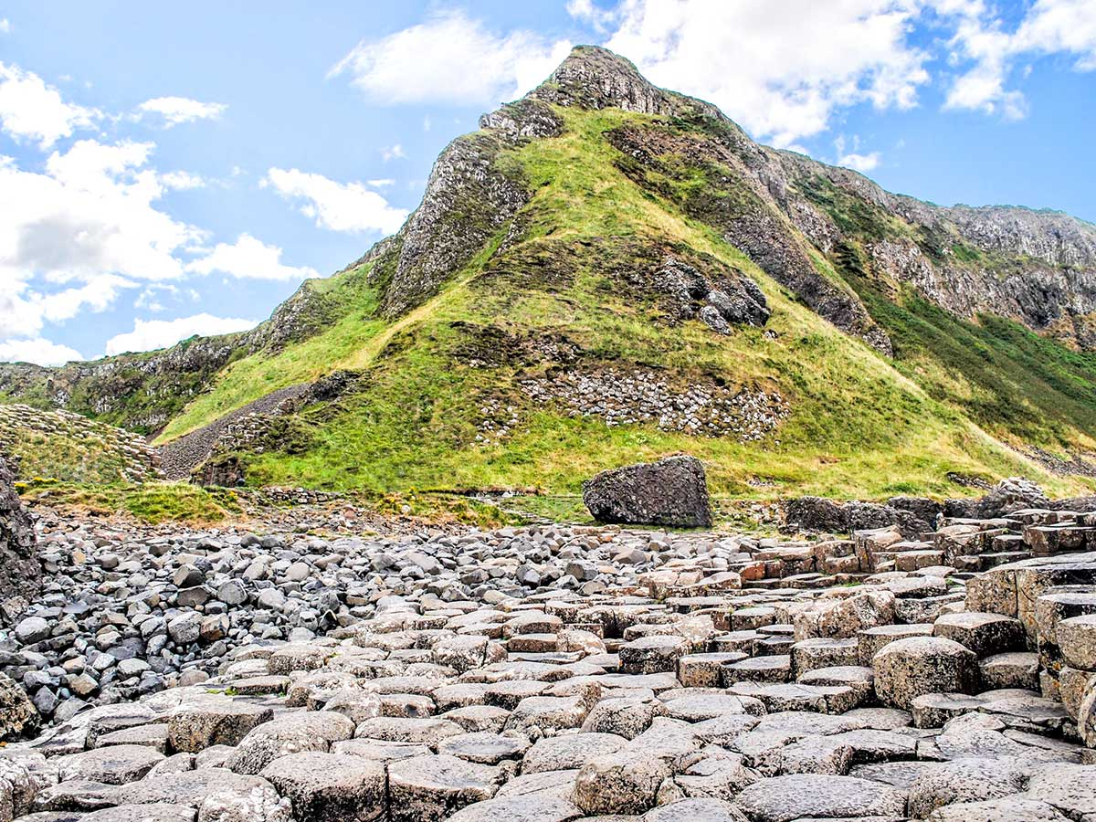 On Family Adventure Giants Myths Legends Tour you get to visit the Giants Gauseway Hill